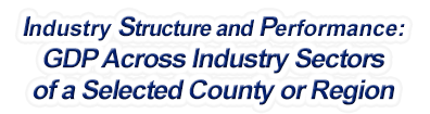 Arizona - Gross Domestic Product Across Industry Sectors of a Selected County or Region